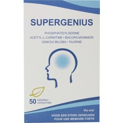 Soria Supergenius (50 tabletten)
