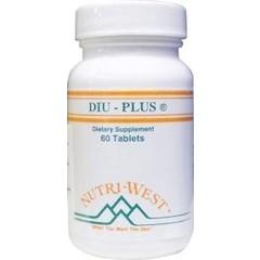 Nutri West DIU plus (60 tabletten)