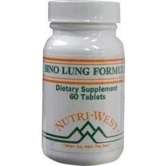 Nutri West Sino lung formula (60 tabletten)