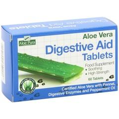 Optima Aloe pura aloe vera digestive aid tabletten (60 tabletten)