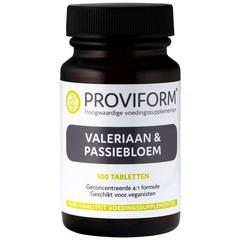 Proviform Valeriaan en passiebloem (100 tabletten)