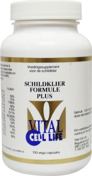 Vital Cell Life Vital Cell Life Schildklier formule plus (100 capsules)