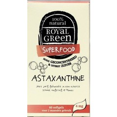 Royal Green Astaxanthine (60 softgels)