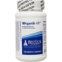 Biotics Organik 15 (180 tabletten)
