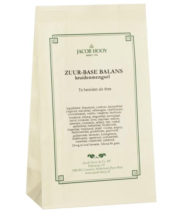 Jacob Hooy Jacob Hooy Zuur base balans (geel zakje) (80 gram)