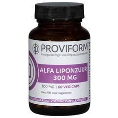 Proviform Alfa liponzuur 300 mg (60 vcaps)