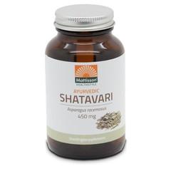 Mattisson Ayurvedic Shatavari asparagus racemosus 450 mg (120 tabletten)