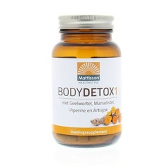 Mattisson Body Detox 1 met o.a. geelwortel (60 capsules)
