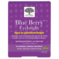 New Nordic Blue berry eyebright (60 tabletten)