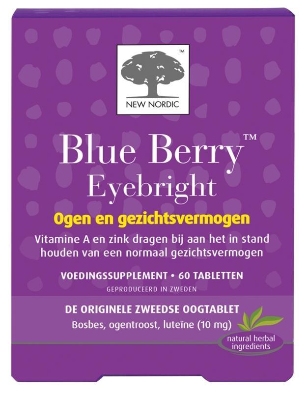 New Nordic Blue berry eyebright (60 tabletten)