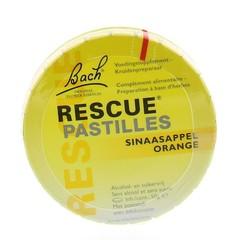 Bach Rescue pastilles sinaasappel (50 gram)