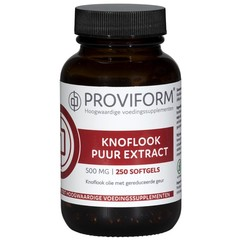 Proviform Knoflook puur 500 mg (250 softgels)