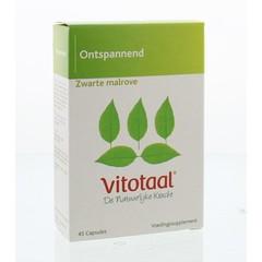 Vitotaal Zwarte malrove (45 capsules)