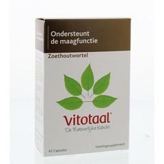 Vitotaal Zoethoutwortel (45 capsules)