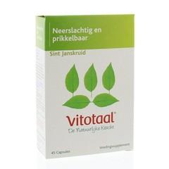 Vitotaal Sint Janskruid (45 capsules)