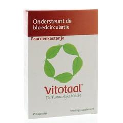 Vitotaal Paardenkastanje (45 capsules)