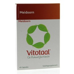 Vitotaal Meidoorn (45 capsules)