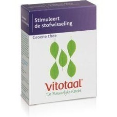 Vitotaal Groene thee (45 capsules)