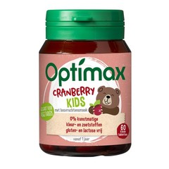 Optimax Kinder cranberry beer (60 tabletten)