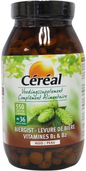 Cereal Cereal Biergist 220 gram (550 tabletten)