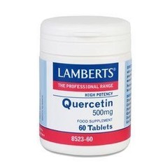Lamberts Quercetine 500 mg (60 tabletten)