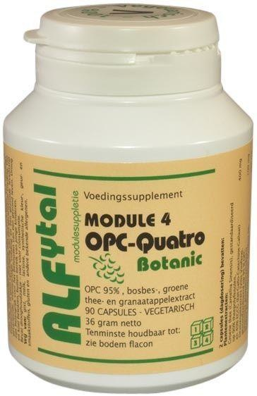 Alfytal OPC-Quatro Botanic (90 vcaps)