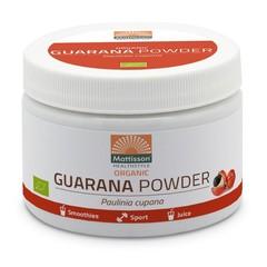 Mattisson Guarana poeder biologisch (125 gram)