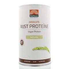 Mattisson Absolute rijst proteine poeder vegan 80% (400 gram)