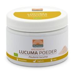 Mattisson Lucuma poeder pouteria lucuma biologisch (300 gram)