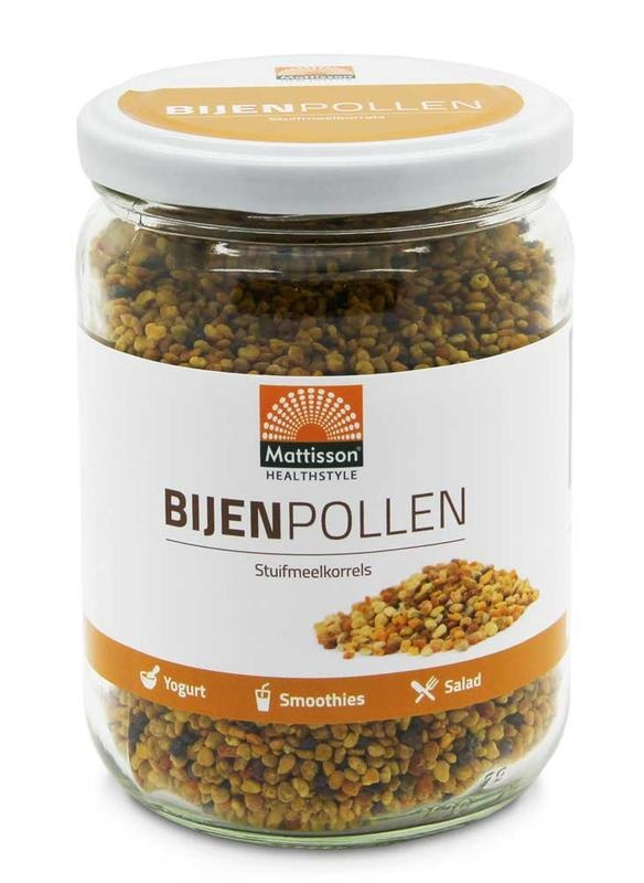Mattisson Bijenpollen stuifmeelkorrels raw (300 gram)