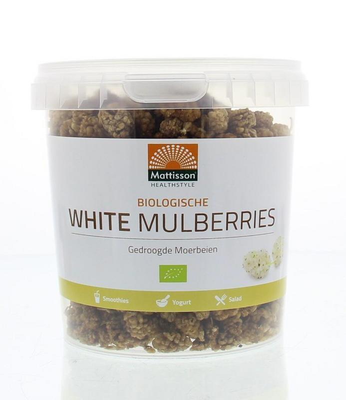 Mattisson Mattisson Absolute white mulberries raw bio (300 gram)