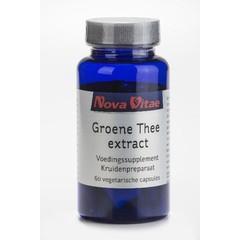 Nova Vitae Groene thee (60 capsules)