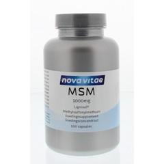 Nova Vitae MSM 1000 mg (100 capsules)