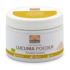 Mattisson Lucuma poeder pouteria lucuma biologisch (125 gram)