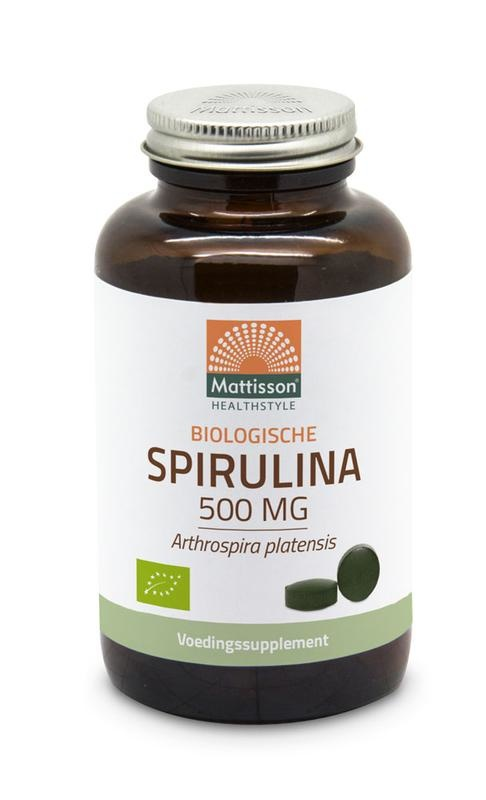 Mattisson Mattisson Spirulina 500 mg bio (240 tabletten)