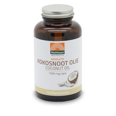 Mattisson Absolute kokosnoot olie 1000 mg (120 softgels)
