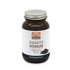 Mattisson Absolute zwarte komijn 500 mg (90 capsules)