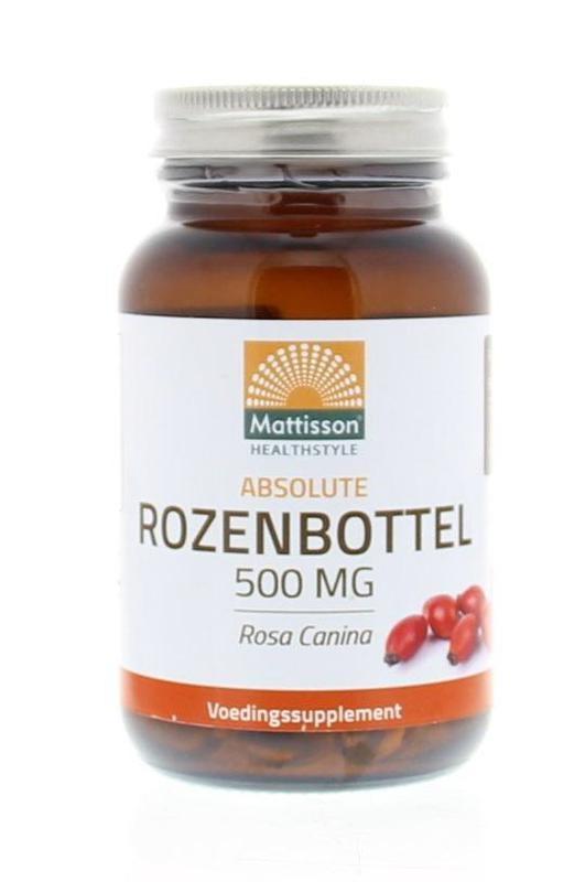 Mattisson Mattisson Absolute rozenbottel 500 mg (90 capsules)
