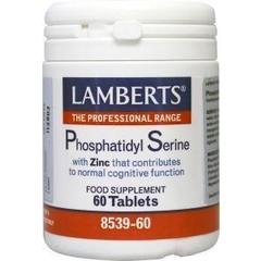 Lamberts Phosphatidyl serine 100 mg (60 tabletten)
