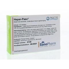 Pascoe Hepar pasc (100 tabletten)