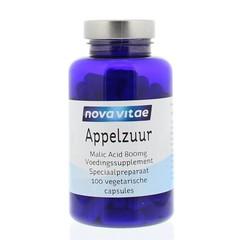 Nova Vitae Appelzuur malic acid 800 mg (100 capsules)