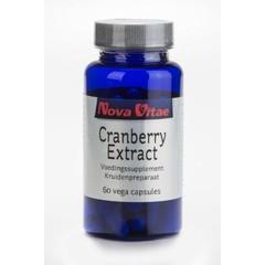 Nova Vitae Cranberry extract (60 vcaps)