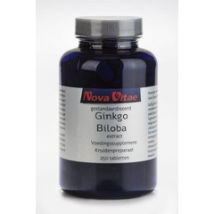 Nova Vitae Ginkgo biloba extract 60 mg (250 tabletten)