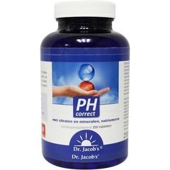 Dr. Jacob's PH Correct tabletten (250 tabletten)