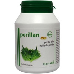 Soria Perillan perilla olie 500 mg (120 capsules)