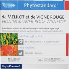 Phytostandard Honingklaver/rode wijnstok (30 tabletten)