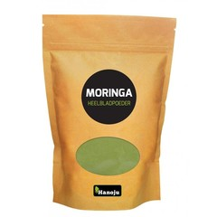 Hanoju Moringa oleifera heelblad poeder (1 kilogram)