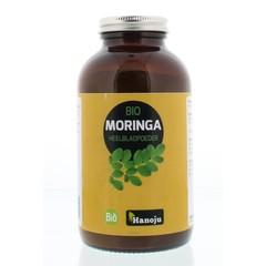 Hanoju Bio moringa oleifera heelblad poeder pot (200 gram)