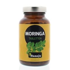 Hanoju Moringa oleifera heelblad 500 mg (250 tabletten)