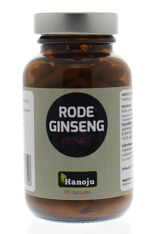 Hanoju Hanoju Rode ginseng (90 capsules)